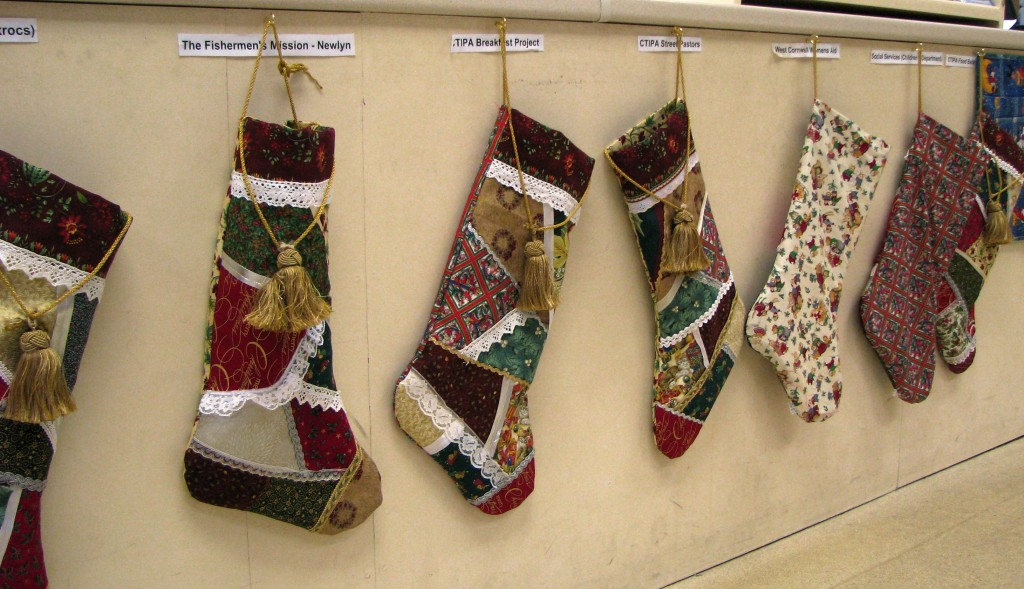 The Giving Shop stockings